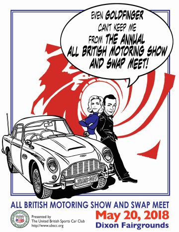 UBSCC The United British Sports Car Club - Sacramento car show and swap meet